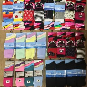 48 PAIRS OF LADIES SOCKS ASSORTED PATTERNS SIZE 4-6 WHOLESALE JOB LOT