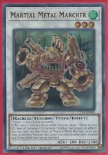 Yugioh - Martial Metal Marcher - Holographic Ultra Rare - Limited Edition Card
