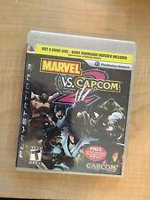 Marvel Vs Capcom 2 Sony PS3 New Sealed Limited Edition Exclusive RARE MVC2 MVC