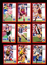 1997 White Crow Warriors Buckley Platten Silvagni ++ set of 30 cards Nr Mint
