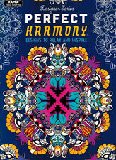 Adult Coloring Book - Perfect Harmony - NEW -