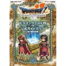 Dragon Warrior (Quest) VII official guide book Hiden Saishu hen / 3DS