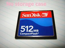 1pcs original 512mb Sandisk  Compact flash  CFI  memory card for CF Nikon CANON