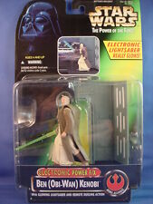 STAR WARS POTF2 ELECTRONIC POWER F/X BEN (OBI-WAN KENOBI w/Glowing Lightsaber.00