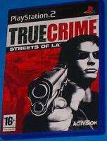 True Crime Streets of LA - Sony Playstation 2 PS2 - PAL