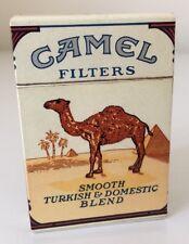 Nice Vintage Advertising Camel Filters Flip Up Box Cigarette Lighter