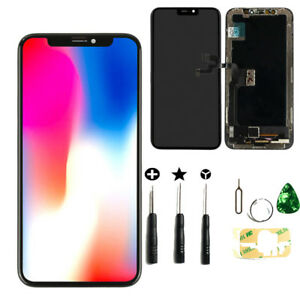 for iPhone X 5.8'' LCD Touch Screen Digitizer Assembly Display Replacement Black