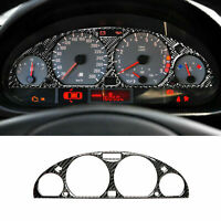 Carbon Fiber Inner Front Dashboard Sticker Cover Trim For BMW M3 E46 1998-2005
