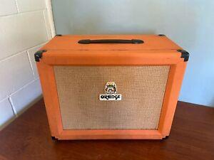 Orange ppc112 1x12 closed back speaker cabinet box. Celestion vintage 30