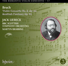 Bruch / Liebeck / Br - Romantic Violin Concerto 17 / 3 Scottish Fantasy [New CD]