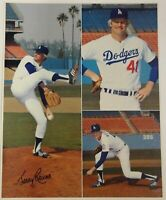 Jerry Reuss Signed Autograph 16x20 Photograph Los Angeles Dodgers Collage COA