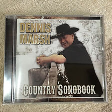 Dennis Marsh – Country Songbook CD _Signed ?? _Good+++.       (2167)