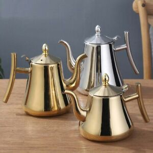 1/1.5/2 L Thick Stainless Steel Teapot with Infuser Coffee Pot Tea Water Kettle