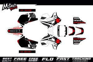 Suzuki RM 125 250 1996 1997 1998 Fasthouse Graphics Kit Enduro Motocross Decal