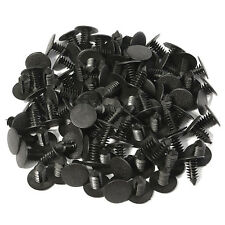 100PC 20mm Head 8mm Hol Nylon Trim Boot Rivets Push Clip Fastener For Car SUV