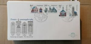 0377 Envelope 1ER Day Country Low 1985 Architecture Monuments