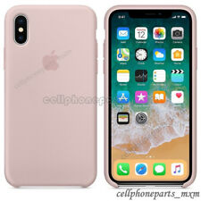 For Apple iPhone X XR XS Max 8 Original Silicone Genuine Back Case Luxury Cover