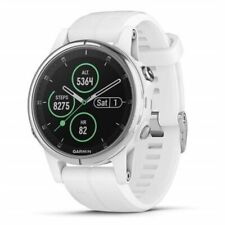 Garmin fēnix 5S Plus 42mm White/White Sapphire Edition GPS Watch NEW