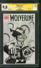 Wolverine 310 Variant CGC 9.8 SS Mark Propst Original art Sketch X Men Movie
