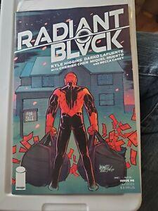 Radiant Black #6 Image Comics Kyle Higgins