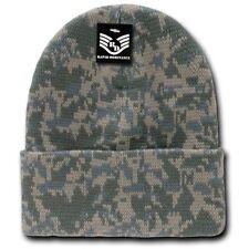 Winter Camouflage Ski Hats for Men