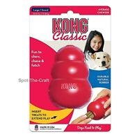 Kong Classic Large Dog Chew Toy Red L