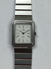 Original Concord Mariner Rectangle Stainless Steel Women's Watch
