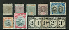 Grenada HIGH VALUE Lot of 12 Stamps Postage Due MH #1002