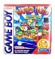 Boite Jeu Wario Land Reproduction Nintendo Game Boy Super Mario Land 3 Sans jeu