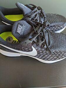 Men's Nike Air Zoom Pegasus 35 4E 'Gunsmoke' Running 942854-001 Size 7/8.5W Wide
