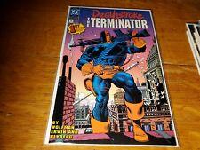 Deathstroke the Terminator #1 (1991) Slade Wilson Mike Zeck Cover VF+