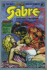 Sabre #7 (Dec 1983, Eclipse) Don McGregor, Billy Graham, Kent Williams c