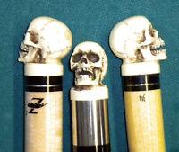 Made in USA Joint Protectors 5/16 x 14 Pool Cue Billiards Skull Skeleton 17JPA
