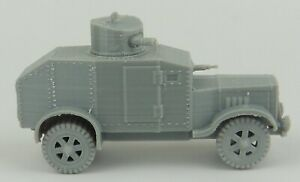 28mm 1/56 3D printed WWII Japanese Hokoku-Go Heavy Armoured Car for Bolt Action