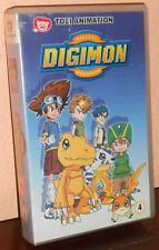 """DIGIMON 4 - VHS ORIGINALE """" FILM ANIMAZIONE - CARTONI ANIMATI """" DIGITAL MONSTERS"""