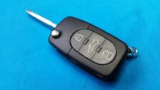 AUDI  TT KEY FOB REMOTE WITH NEW BLANK KEY & CHIP P/N 4D0837231K