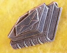 Vintage style Sterling Silver Tiny Brooch / Lapel Pin