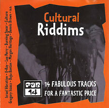 CULTURAL RIDDIMS. CD. Spear,Israel Vibes,D Brown, Black Uhuru, Others. 2000