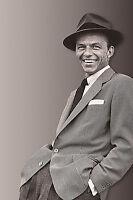 "Frank Sinatra Celebrity Photograph Legendary Pose - 17""x22"" Fine Art Print-00173"
