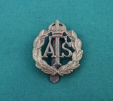 """Auxiliary Territorial Service """"ATS"""" KC - 100% Genuine WW2 British Army Badge"""