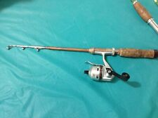 Small Collapsible Travel fishing rod and Daiwa reel