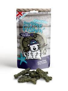 Dog Gone Fishin' White Fish With Kelp Crunchies 75g (Pack of 6)