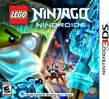 LEGO Ninjago: Nindroids (Nintendo 3DS, 2014) Barely Used!