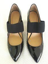 Circa Joan & David 5.5 M  NEW Women's Eliana Mary Jane Patent Leather Pump Black