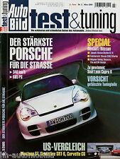 Auto Bild test & tuning 3 05 2005 Brabus D3 Corvette C6 Mustang Renault Spider