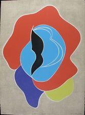 """Barbara Kwasniewska original signed etching 11/75 """"Monsier Loyal""""  image 22x30"""