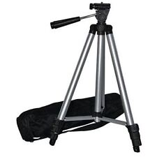 """Lightweight Universal 50"""" Portable Camera Tripod Stand With Carry Case Freepost"""