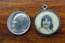 Holder Keepsake charm #2 Vintage sterling silver Locket Photo