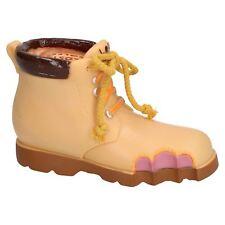 "Vinyl Lost Soles Work Boot  Dog Toy With Squeak 20cm/8"""