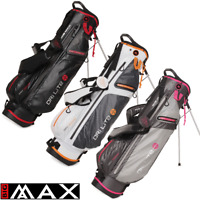 """""""NEW 2018"""" BIG MAX DRILITE 7 WATER RESISTANT GOLF STAND CARRY BAG / ALL COLOURS"""